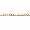 Dazzle-it Curb Chain 3X2mm Brass 1M /Card